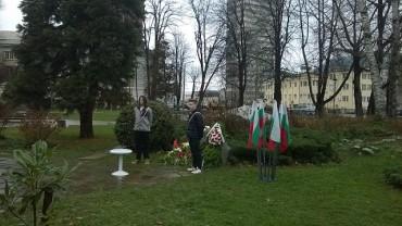 """""""Младите възрожденци"""" почетоха 143-та годишнина от гибелта на Левски"""