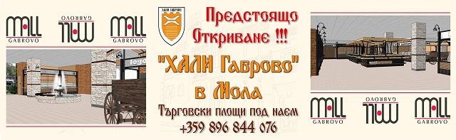"""Станете част от """"Хали Габрово"""" в Мола"""