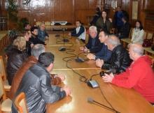 """Миньорите от """"Черно море"""" си искат заплатите, кметът им обеща съдействие"""