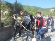 Над 17 тона отпадъци събраха в Шумен при пролетното почистване на града