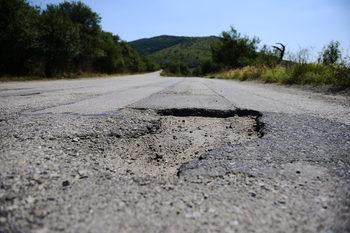 Жители на Димово протестираха срещу тежкия трафик, започва ремонт на пътя