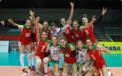 Младите ни волейболистки разбраха съперниците си на Европейското