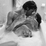 В банята