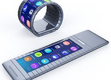 Огъващ се смартфон ще може да се носи като гривна