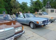 """Хасковски мерцедес е най-старият автомобил на ретро ралито """"Марица"""" в Пловдив"""