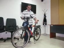 Шуменец ще навърти 25 хил. км. с колело