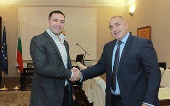 Бойко Борисов: България има нужда от спортисти като Кубрат Пулев