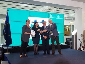 "Български екопроект взе европейска награда ""Натура 2000"""