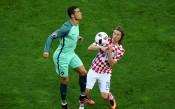 Роналдо теши съотборник от Реал от противниковия лагер