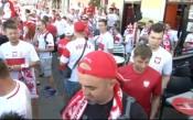 Феновете на Полша и Украйна очакват сблъсъка между двата тима