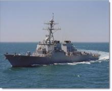 """Американският разрушител """"Портър"""" идва в Черно море"""