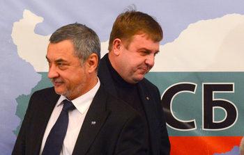Каракачанов и Симеонов: Готови сме на преговори за президентския вот с всички без ДПС и ДОСТ
