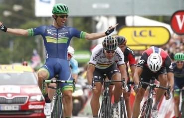 """Австралиец триумфира в 10-ия етап на """"Тур дьо Франс"""""""
