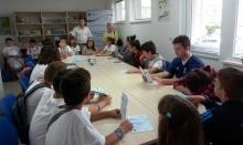 Децата, участници в Еколято 2016, посетиха офиса на ОИЦ-Разград
