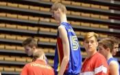 229-сантиметров румънец играе на Евробаскет за кадети в София