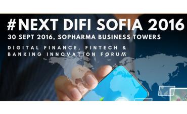 Започна регистрацията за #NEXT DIFI 2016 форум за дигитални финанси