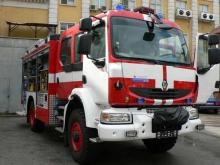 Пожар горя в къща в Пет могили