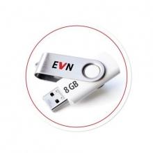 EVN България Топлофикация  с подарък флашка за преминалите на  електронна фактура