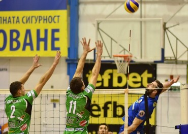 Добруджа и Левски започват за Купата на CEV