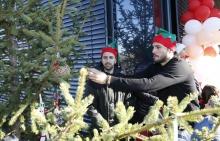 500 деца украсиха елхата на Лудогорец