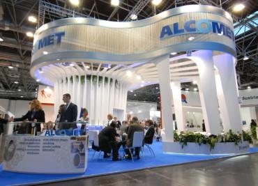 "Алкомет участва в изложението ""Aluminium"""