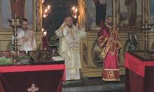 """Русенският митрополит Наум отслужи празнична литургия в разградската църква """"Св. Николай Чудотворец"""""""