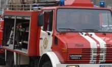 Кола пламна в движение срещу Районния съд