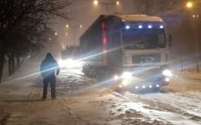 Аварирал камион блокира пътя Граматиково – Малко Търново