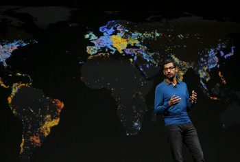 Google може да се раздели със сателитното си звено