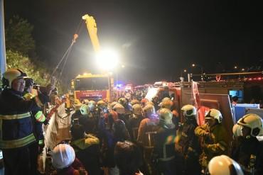 Ужасяваща катастрофа в Тайван