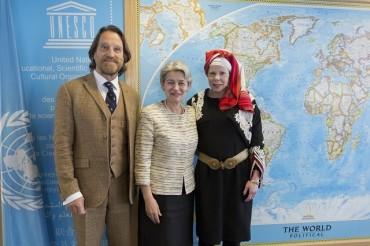 Княгиня Калина се срещна с Ирина Бокова
