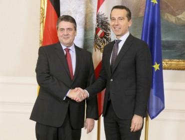 Австрия и Германия искат сплотен ЕС срещу САЩ и Русия