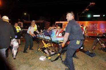 Aвтомобил се вряза в тълпа на фестивал в Ню Орлиънс (СНИМКИ)
