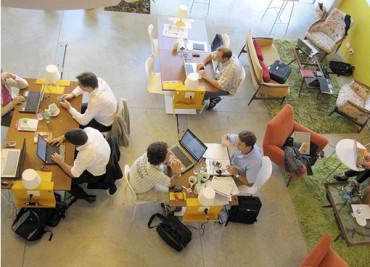 Споделените работни места помагат за развитието на бизнеса