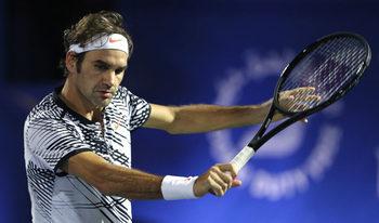 Федерер стартира с бърза победа участието си в Дубай