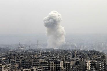 Бомбен ад в Дамаск