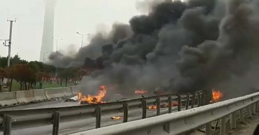 Хеликоптер с руснаци на борда се разби в Истанбул