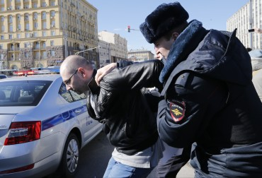 Арести и недоволство в Русия