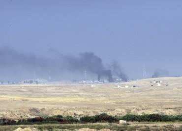 Израелска канонада в Сирия