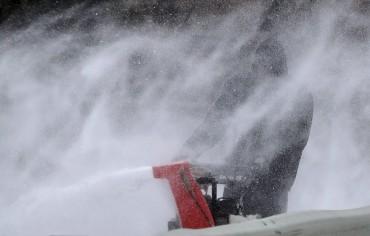 Снегът владее Източното крайбрежие на САЩ (СНИМКИ)