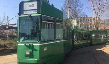 Трамваи на 27 години от Базел тръгват из София от април