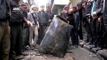 Варелни бомби валят над Сирия (ВИДЕО+СНИМКИ)