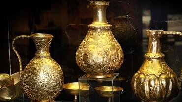 Златното съкровище от Над Сент Миклош вече е в София