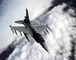 Изтребител F-16  се разби в Мериленд