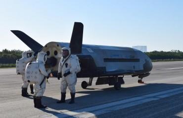 Мистериозен US самолет прекара две години в космоса