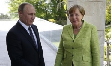 Меркел и Путин обсъдиха темите на Г-20