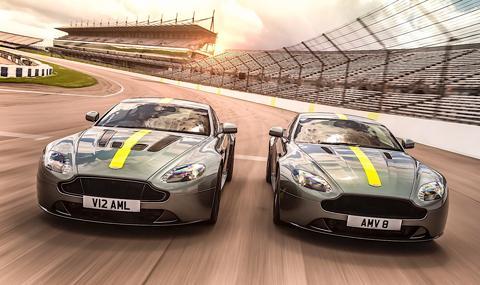 Ето ги най-бързите Vantage от Aston Martin – AMR