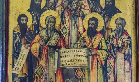 Копия на икони от Македония влизат в НИМ