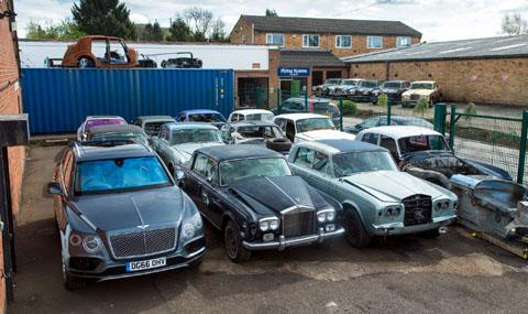 Автоморга за британски аристократи