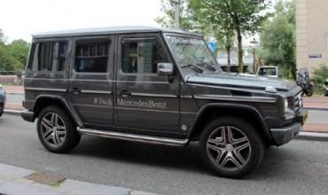 Дилър на BMW кара особена G-Klasse
